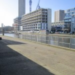 Wasteland and river views: unit base in central London. Image: FF