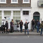 Filming started on the weekend. Photo by: Juliet McConnell